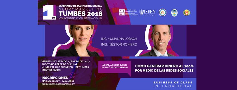 Seminario Marketing Digital Perú
